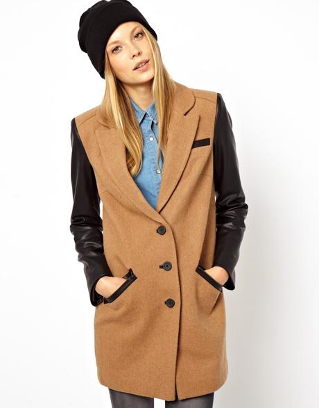 Fin frakke
