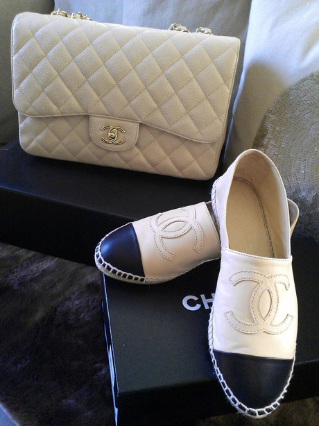 Chanel sko og taske