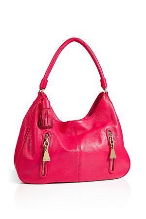 Pink taske