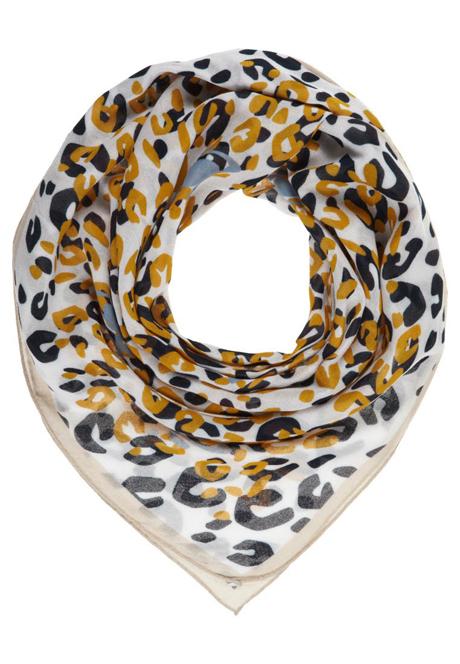 Flot mønstret tørklæde