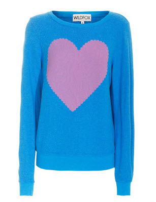 Fin sweater fra Wildfox
