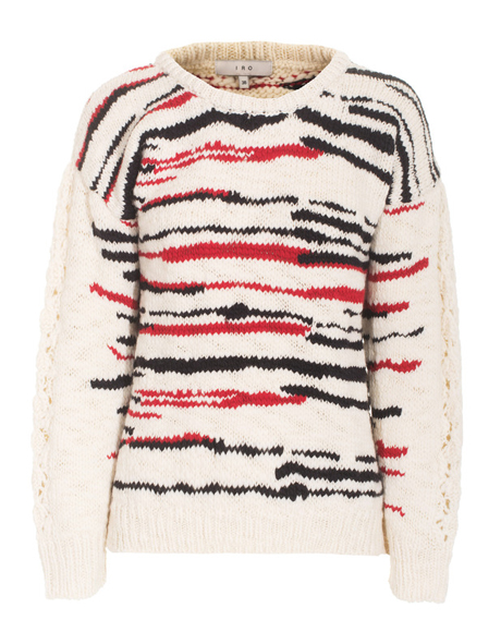 Flot striksweater
